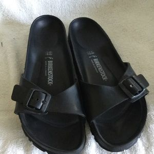 Birkenstock Madrid Women's Black jelly sandals 40